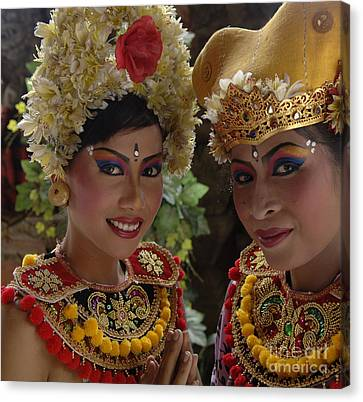 Bali Beauties Canvas Print by Bob Christopher
