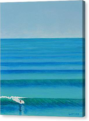 Bali Lines Canvas Print by Nathan Ledyard