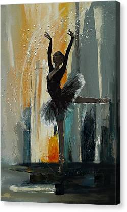 Ballerina 17 Canvas Print by Mahnoor Shah