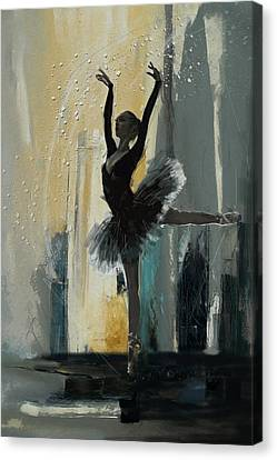 Ballerina 18 Canvas Print by Mahnoor Shah