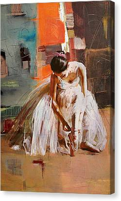 Ballerina 20 Canvas Print by Mahnoor Shah