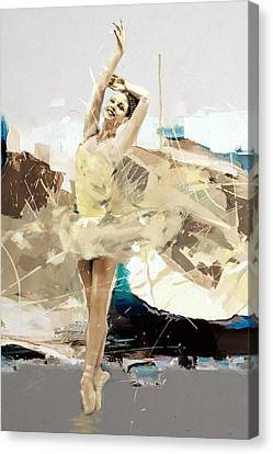 Ballerina 34 Canvas Print by Mahnoor Shah