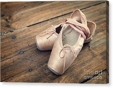 Ballerina Canvas Print by Delphimages Photo Creations