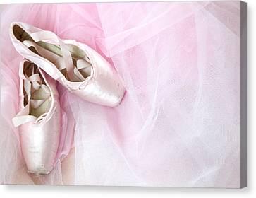 Ballerina Dreams Canvas Print by Zina Zinchik