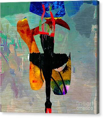 Ballerina Canvas Print by Marvin Blaine
