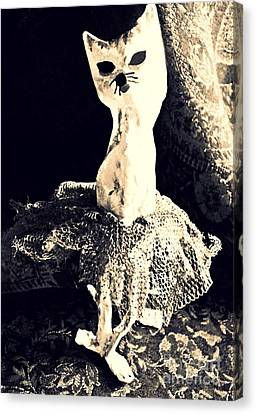 Ballerina Canvas Print by Sarah Loft