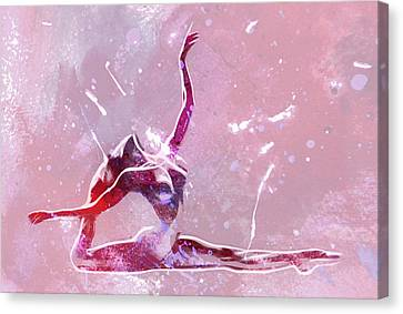 Ballet Art Canvas Print by Stefan Kuhn
