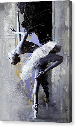 Ballet Dancer 16 Canvas Print by Mahnoor Shah