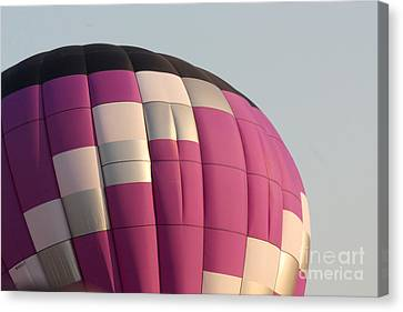 Balloon-purple-7457 Canvas Print by Gary Gingrich Galleries