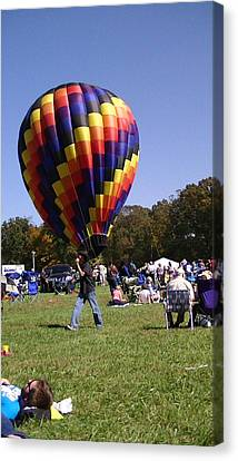 Balloon Rides Canvas Print by Lee Hartsell