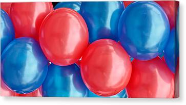 Balloons Canvas Print by Tom Gowanlock