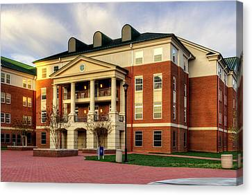 Balsam Residence Hall - Wcu Canvas Print by Greg and Chrystal Mimbs