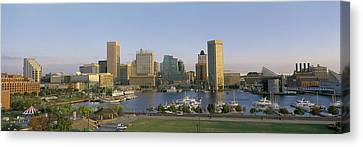 Baltimore Md Canvas Print by Panoramic Images