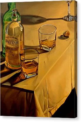 Balvenie Scotch Canvas Print by Rick Liebenow