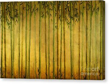 Bamboo Rising Canvas Print by Bedros Awak