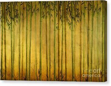 Bamboo Rising Canvas Print by Bedros Awak