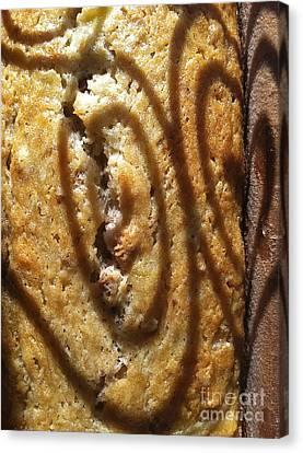 Banana Bread Love Canvas Print by Gwyn Newcombe