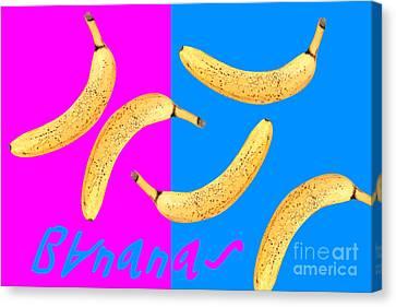 Bananas Canvas Print by Natalie Kinnear