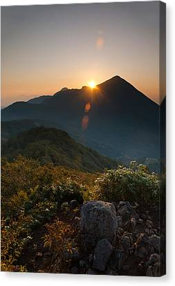 Bandai Sunrise Canvas Print by Aaron S Bedell
