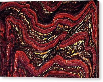 Banded Ironstone Formation (bif) Canvas Print by Dirk Wiersma