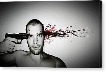 Bang... Canvas Print by Nicklas Gustafsson