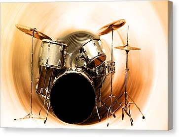 Bang On The Drum All Day Canvas Print by Bill Cannon