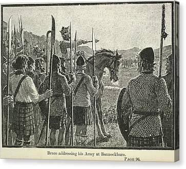Bannockburn Canvas Print by British Library