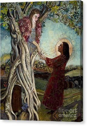Banyan Tree Canvas Print by Diane Soule