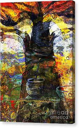 Baobab Tree  Canvas Print by Fania Simon