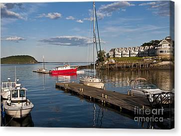 Bar Harbor, Maine Canvas Print by Bill Bachmann