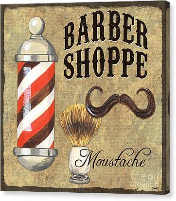 Barber Shoppe 1 Canvas Print by Debbie DeWitt