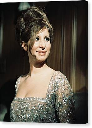Barbra Streisand In Funny Girl  Canvas Print by Silver Screen