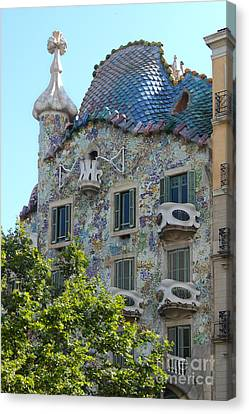 Barcelona Spain Canvas Print by Gregory Dyer
