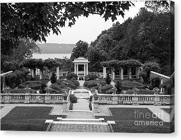 Bard College Blithewood Garden Canvas Print by University Icons