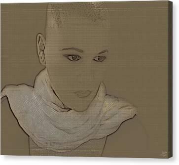 Bared Canvas Print by Lisa Knechtel