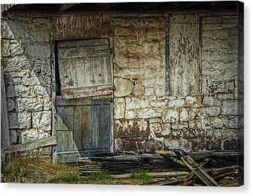 Barn Door Canvas Print by Joan Carroll