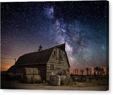 Barn Iv Canvas Print by Aaron J Groen