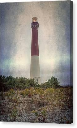 Barnegat Lighthouse Dawn Canvas Print by Joan Carroll