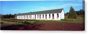 Barracks Of Military Workers, Sister Canvas Print by Panoramic Images