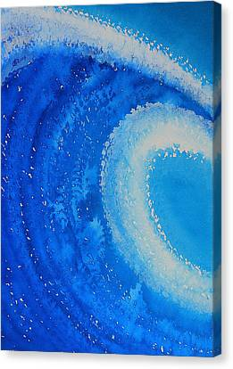 Barreled Original Painting Canvas Print by Sol Luckman