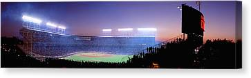 Baseball, Cubs, Chicago, Illinois, Usa Canvas Print by Panoramic Images