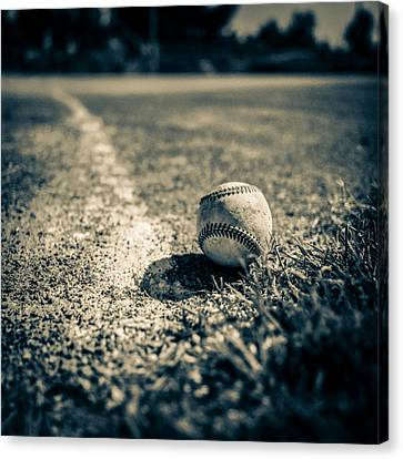 Baseball Field 2 Canvas Print by Yo Pedro