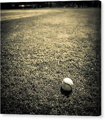 Baseball Field 3 Canvas Print by YoPedro