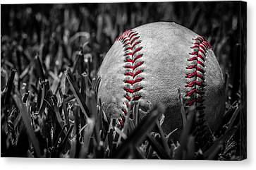 Baseball Nostalgia Series Number Two Canvas Print by Kaleidoscopik Photography