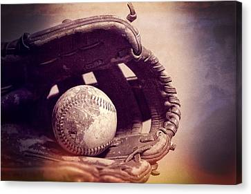 Baseball Season Canvas Print by Dan Sproul