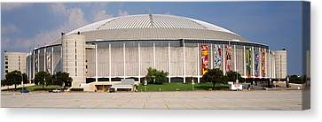 Baseball Stadium, Houston Astrodome Canvas Print by Panoramic Images