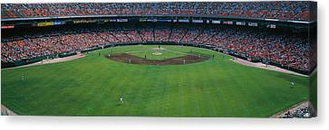 Baseball Stadium, San Francisco Canvas Print by Panoramic Images