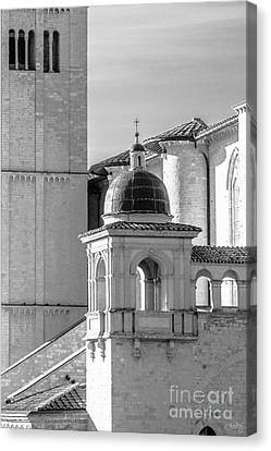 Basilica Details Canvas Print by Prints of Italy