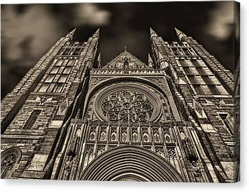 Basilica Of Saints Peter And Paul  Canvas Print by Bob Orsillo