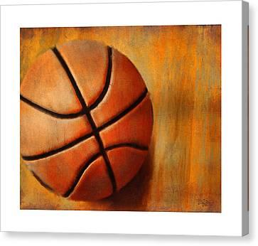 Basket Ball Canvas Print by Craig Tinder